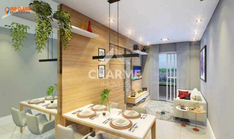 Apartamento na Planta para Venda em Rio Claro / SP no bairro Jardim Residencial das Palmeiras